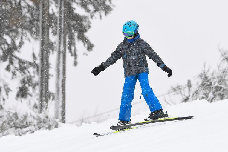Ook het skicentrum van Botrange is vandaag open.