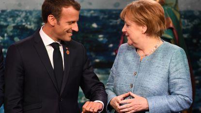 Merkel niet eens met Macron over hervorming eurozone