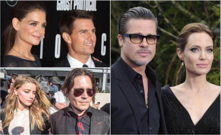 De vuilste vechtscheidingen van Hollywood.