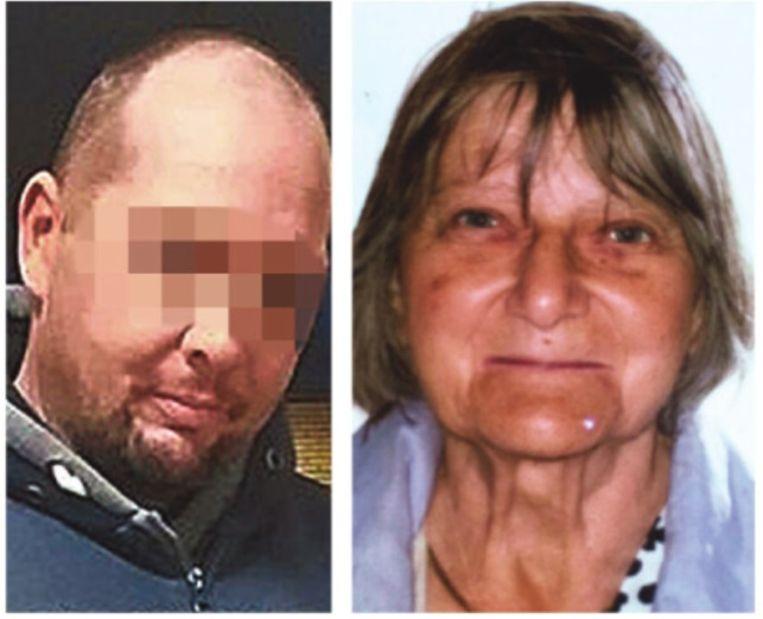 Frank P. (47) woonde samen met zijn moeder. Waar Solange Hennaert is, weet niemand.