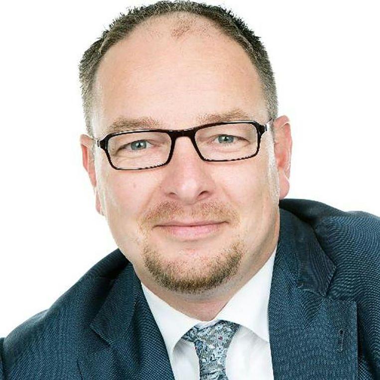 Marco Kleppe, SGP-wethouder in Kapelle. Beeld Twitter