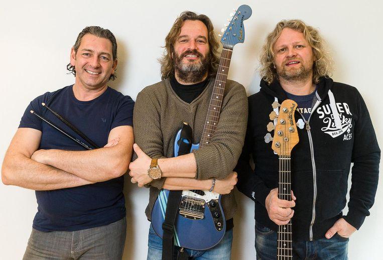 Guy De Mulder, Kurt Burgelman en Bart Mareen vormen al tien jaar Partie Party.