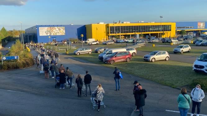 IKEA neemt strengere maatregelen dan federale regering: maximaal één klant per 20 vierkante meter