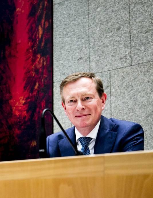 Bruno Bruins, minister voor Medische Zorg.