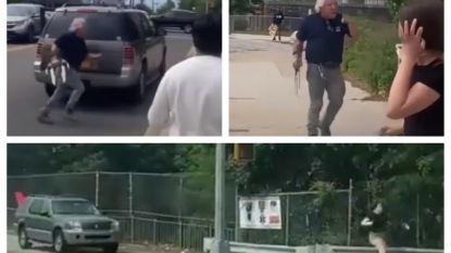 New Yorkse automobilist valt demonstranten aan met 'Wolverine-klauw'