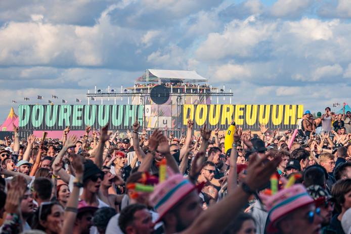 Le festival de Dour en 2019.