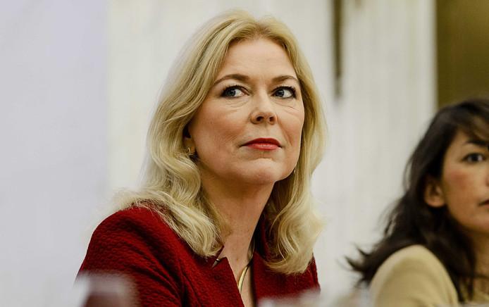 Tweede Kamerlid voor het CDA Madeleine van Toorenburg stelt zich kandidaat voor het voorzitterschap van de Tweede Kamer.