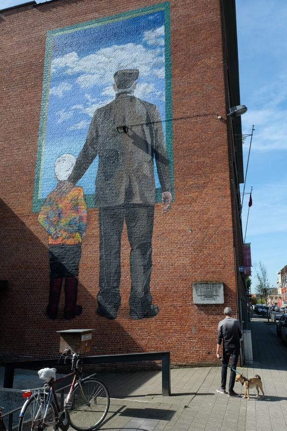 Streetart in Merksem.