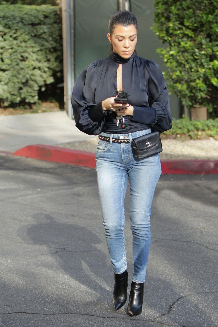 Kourtney Kardashian is een voorbeeld van een endomorf type