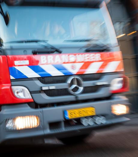 Bankje in brand op balkon in Papendrecht