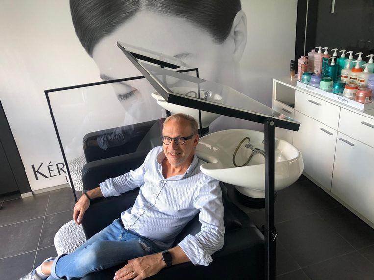 Kapper Jan Verlaeckt van Jan's Hair Design in Staden