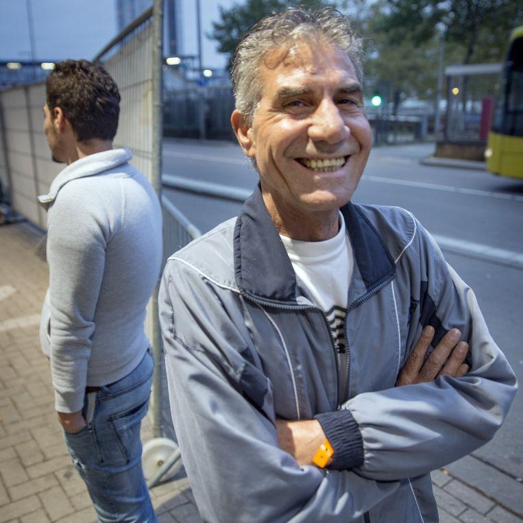 Bassam in Utrecht, in afwachting van een volgend gesprek met de IND. Beeld Herman Engbers