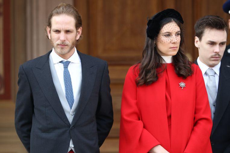 Andrea Casiraghi en zijn vrouw Tatiana.