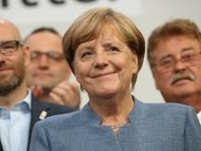 Merkel verliest zetels, maar blijft wel Bondskanselier