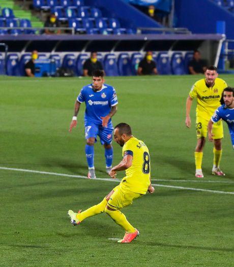 Villarreal dankzij twee penalty's langs concurrent Getafe