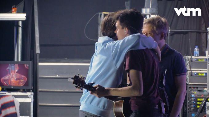 Achter de schermen bij de repetitie van de finale van 'The Voice'