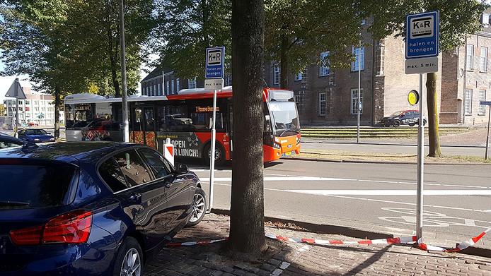 Vijf minuten gratis parkeren. Foto Nicole Roelands