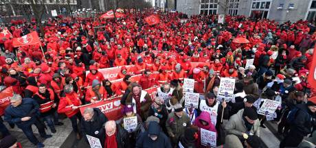 Manifestation nationale: la FGTB tire le bilan pour la région de Charleroi