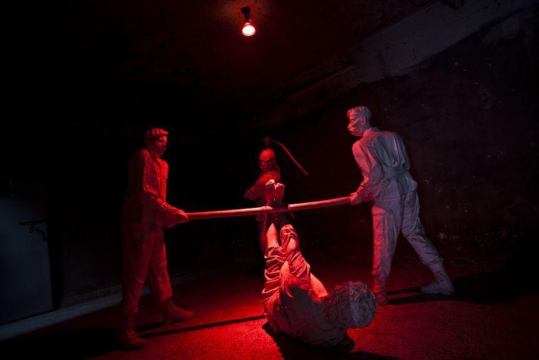 Foto genomen in 'The Red Jail'. Beeld Matilde Gattoni