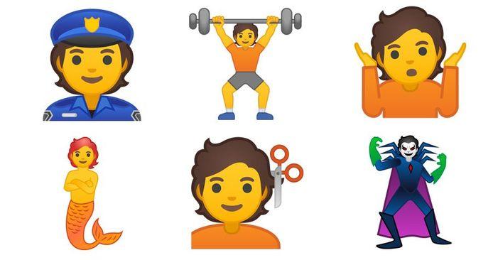 Enkele nieuwe personen bij Google.