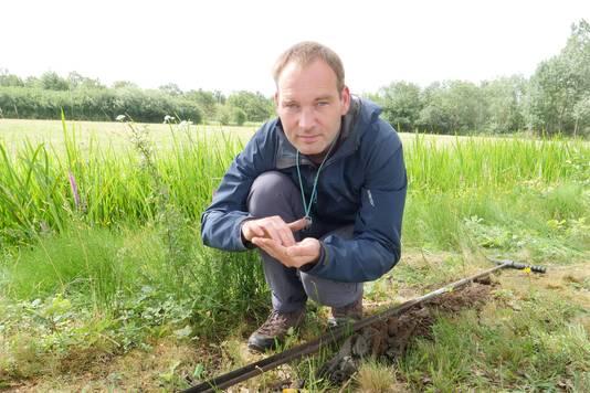 Jeroen Schokker, geoloog van TNO