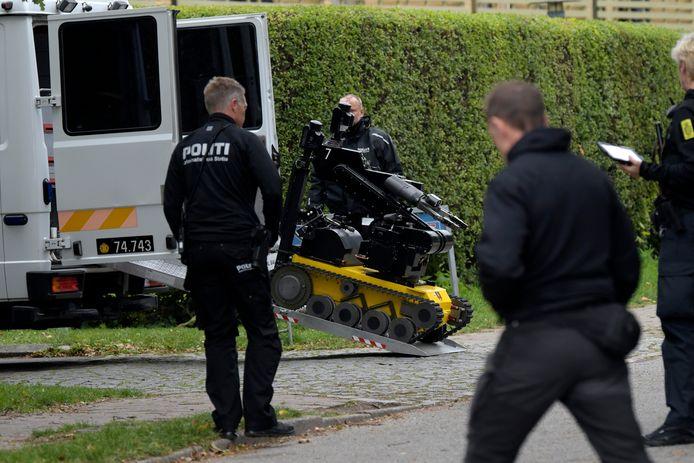 De politie heeft de Explosieven Opruimingsdienst ingezet