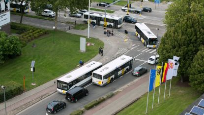 Tijdelijk extra parkings voor studenten  in Hasselt