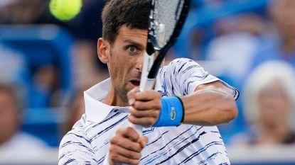 Djokovic blijft nummer één, Goffin vijftiende - Raonic laat verstek gaan voor US Open met bilblessure