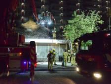 Schade aan keuken van restaurant door brand in afzuiginstallatie