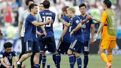 Voor de eerste keer ooit: Japan dankzij fair play-klassement in draak van een match naar de achtste finales