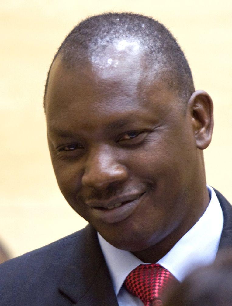 Thomas Lubanga. Beeld AFP