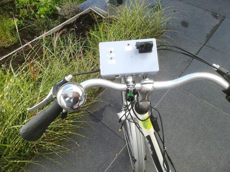 Peter Reynaert, de vader van Kato, ontwierp dit prototype van SofAlert.