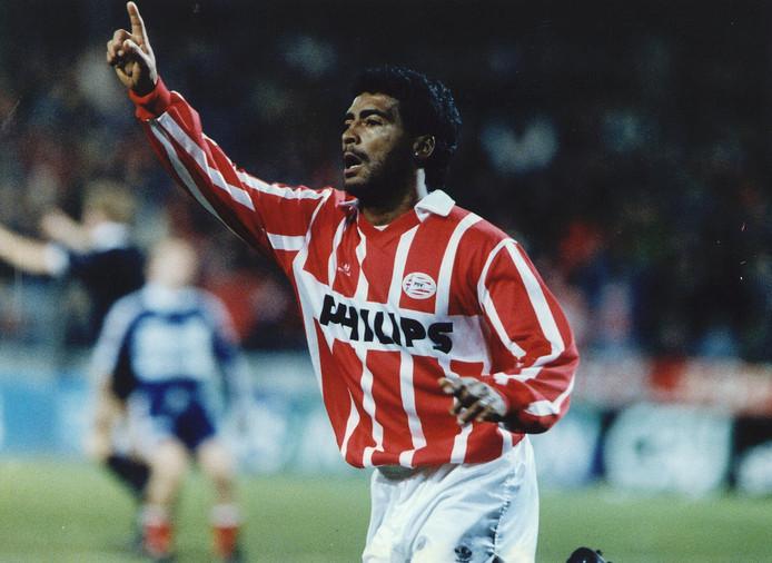 Romario, in dienst van PSV