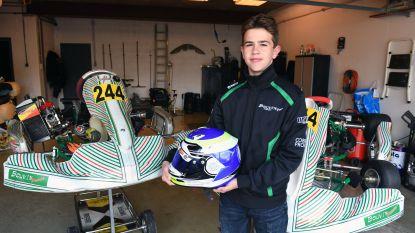 """Milan (14) is Belgisch kampioen karting: """"Ik droom dat ik later professioneel kan racen"""""""