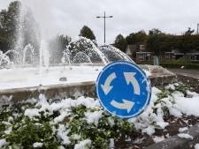 Verkeersgevaar na grap met afwasmiddel in fontein in Schijndel: 'Maar het ruikt wel fris'