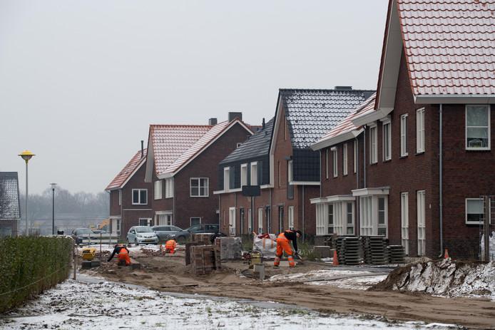 Molenbeek is een van de laatste nieuwe woonwijken die is ontwikkeld in de gemeente Nunspeet (archieffoto).