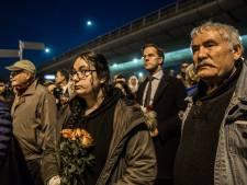 Indrukwekkende stille tocht voor slachtoffers tramdrama
