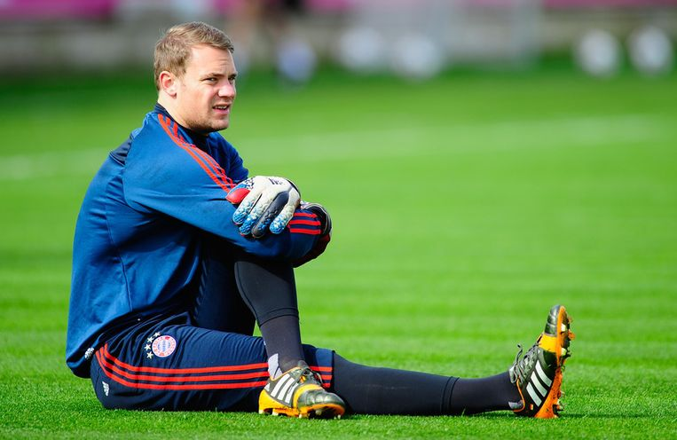 Manuel Neuer. Beeld getty