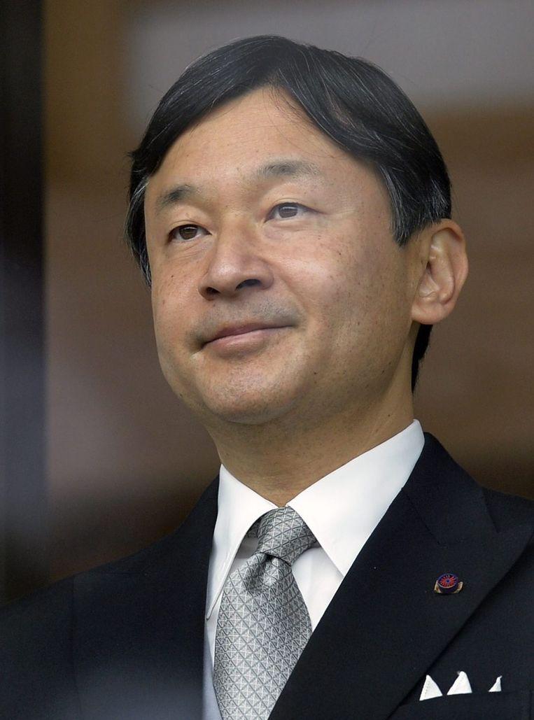 Kroonprins Naruhito.