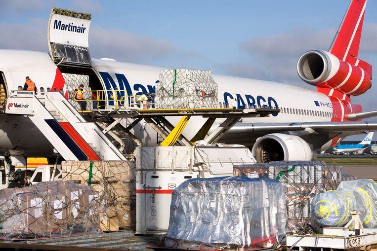 Volgens Argentijnse media gaat het om bemanningsleden van een toestel van Martinair Cargo. Beeld ANP