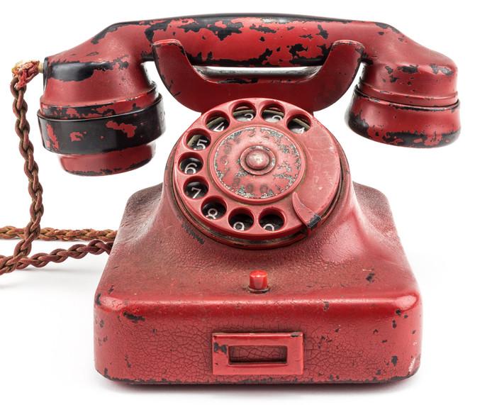 De rode telefoon van Hitler.