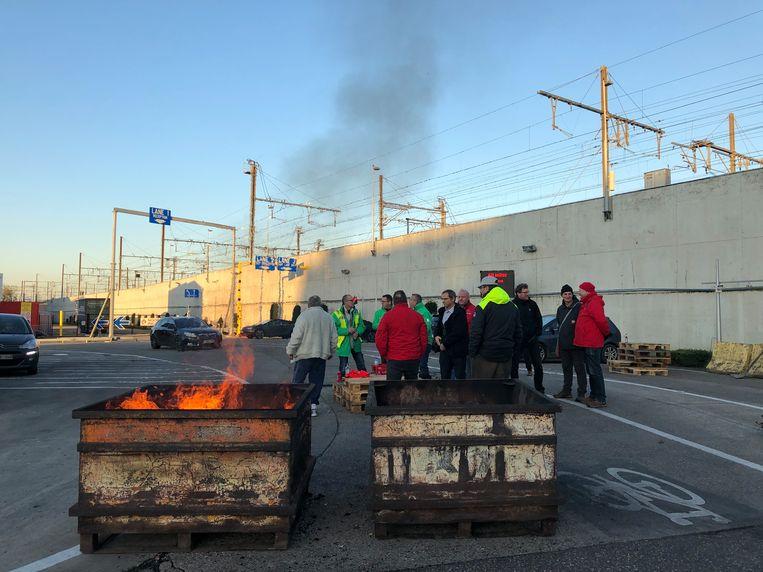 Blokkade aan AB InBev blijft doorgaan