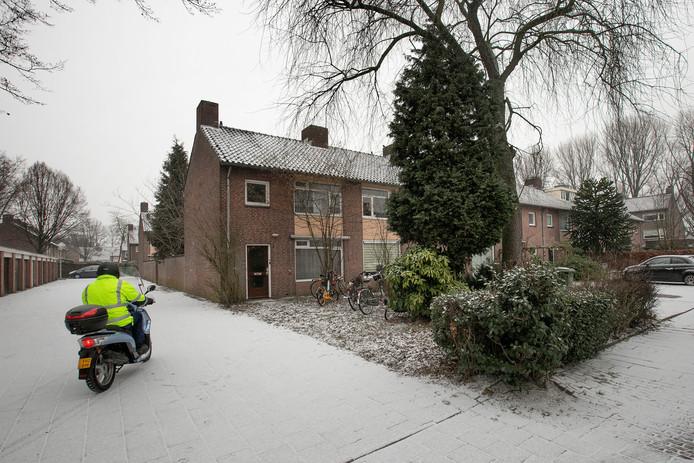 Het Adonispad in Eindhoven is een van de straten waar de discussie over kamerverhuur speelt.