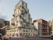 Dit prijswinnende woonblok verwijst naar een 'mythisch bouwwerk'