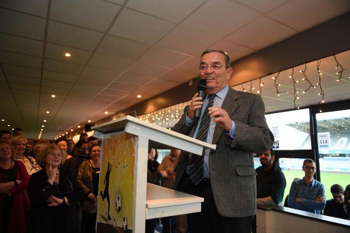 Burgemeester Louis Tobback houdt zijn laatste jaarlijkse nieuwjaarsspeech.