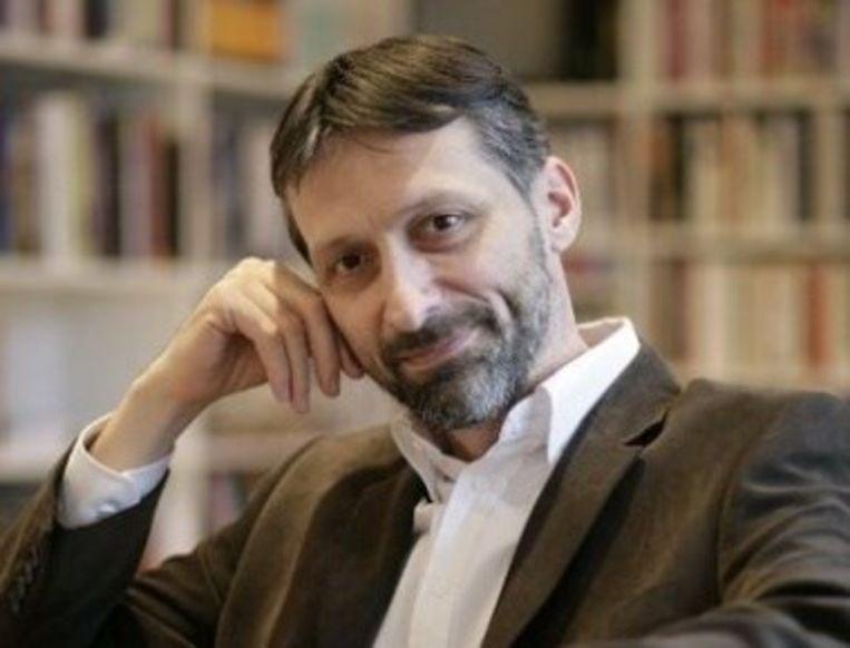 De Kroatische schrijver Miro Gavran. Beeld
