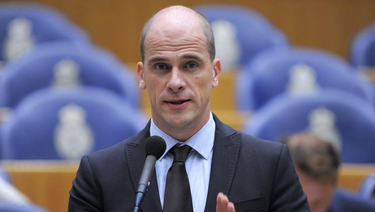 Diederik Samsom: 'Meer hekken vernielt mensenlevens, ondergraaft de Schengenzone en versplintert de EU.' Beeld Dijkstra bv