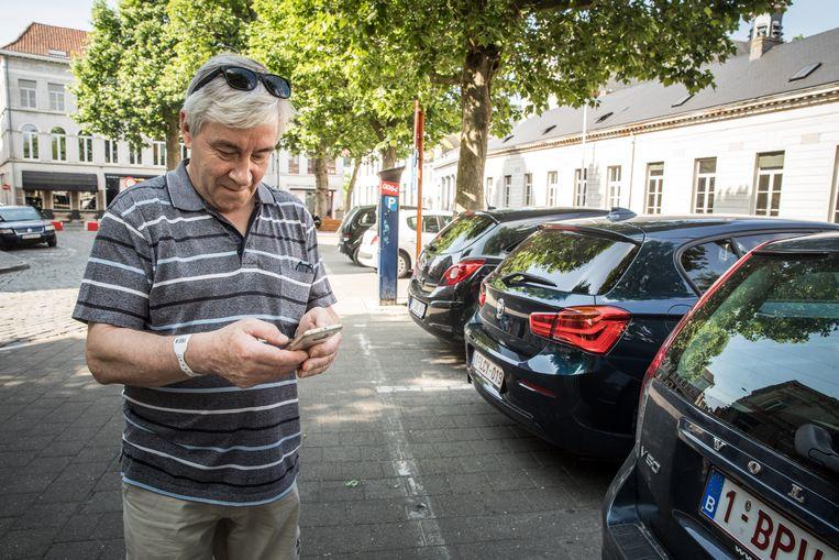 Sms-parkeren is vandaag goed voor 13% van alle parkeertickets