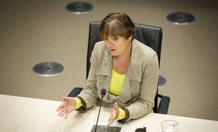 Ella Vogelaar, oud-minister van Wonen, Wijken en Integratie. Beeld anp
