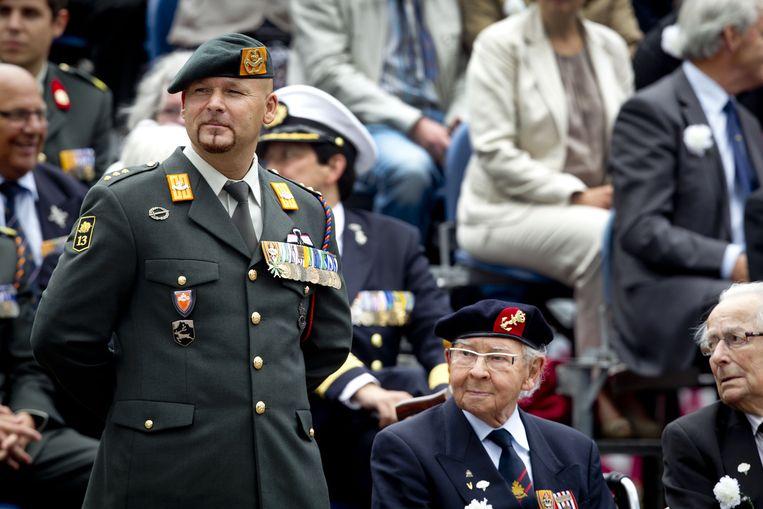 Veteranendag in Den Haag, 2016. Beeld ANP